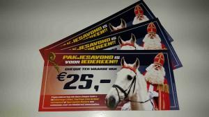 Sinterklaas-cheque
